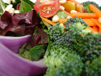 Ovarian cancer diet: Increase your yellow and cruciferous vegetables.